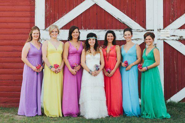 D & E's Farm Wedding