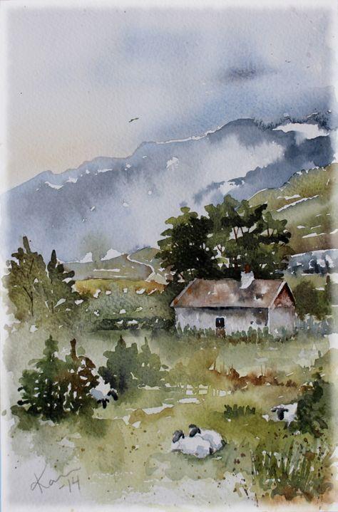 Sunday Watercolors #watercolorarts