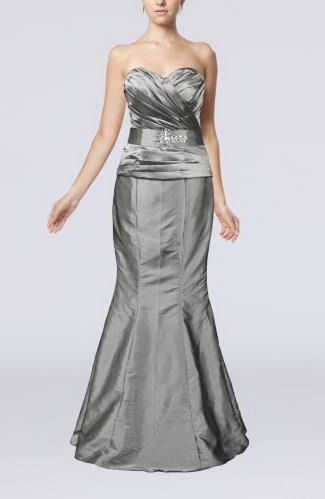 Trumpet Mermaid Sweetheart Taffeta Evening Gowns - Order Link: http://www.thebridalgowns.com/trumpet-mermaid-sweetheart-taffeta-evening-gowns-tbg5523 - SILHOUETTE: Trumpet/Mermaid; SLEEVE: Sleeveless; LENGTH: Floor Length; FABRIC: Taffeta; EMBELLISHMENTS: Ruching , Rhinestone - Price: 138.69USD