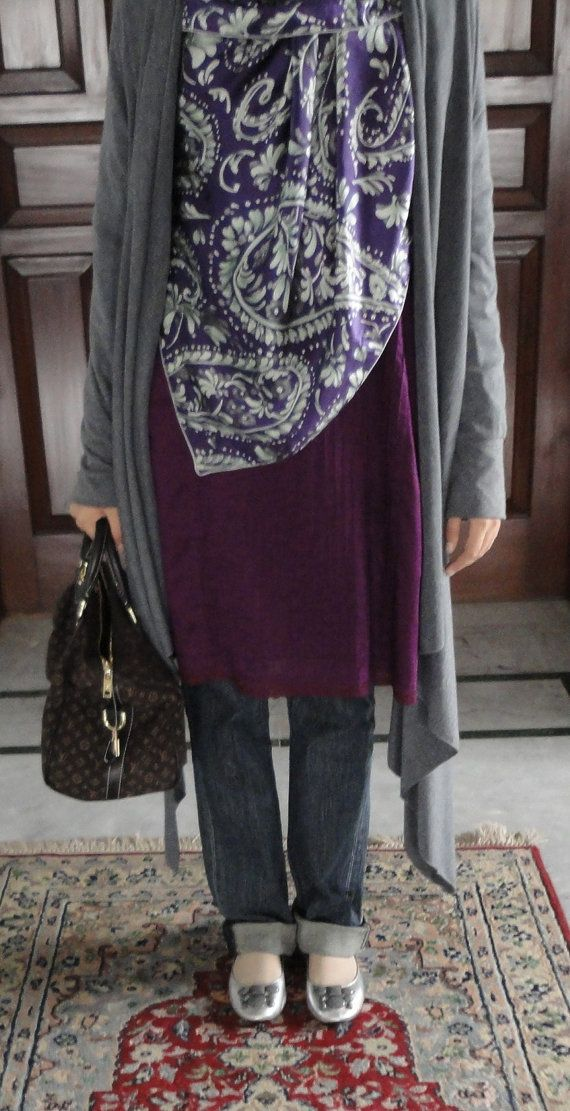 I am really enjoying the khimar / draped front hijab scarf look that I am seeing more of...