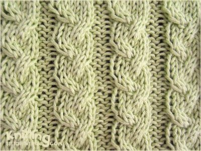 Alternating Between Knit And Purl Stitch : Alternating Cable Rib Knitting Stitch Patterns Knitting Pinterest Cab...