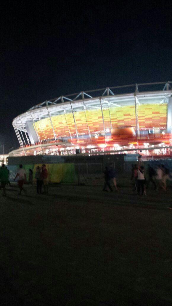 Arena olímpica da Barra
