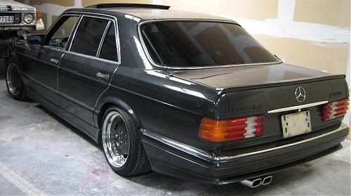 What a Monstrosity - (Dis)tastefully Modded 560SEL AMG 6.0 32V SEL - Japan auction - Page 4 - Mercedes-Benz Forum