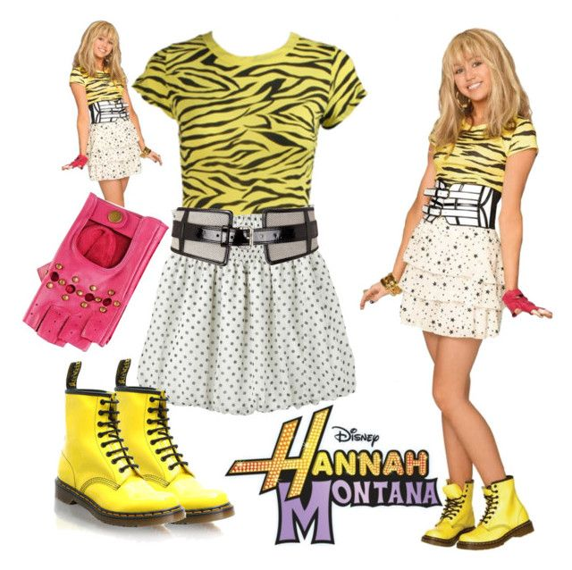 """Hannah Montana Inspired Outfit ~~ Hannah Season 3 ~~ Disney"" by ashheart16 ❤ liked on Polyvore featuring Disney, Cyrus, Wet Seal, Dorothy Perkins and Causse"