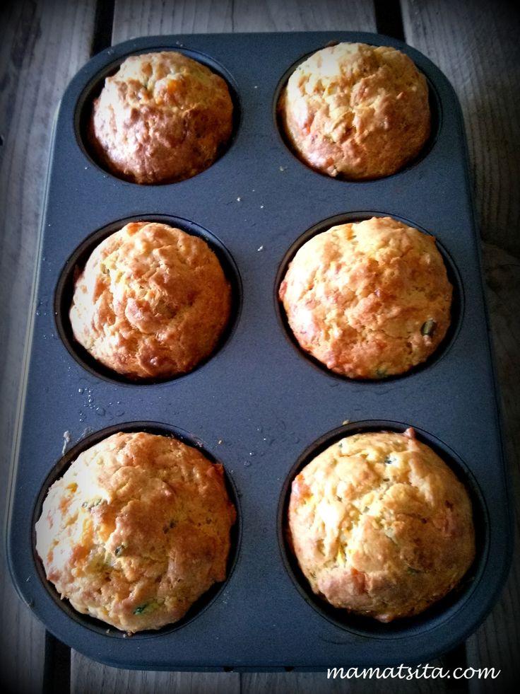 muffins λαχανικών