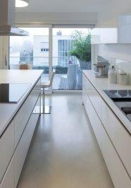 beton flow kchenboden - Kchenboden Modern