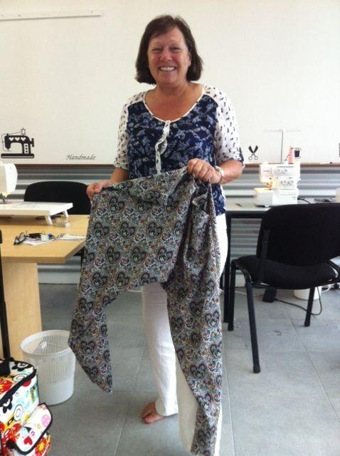 Harem pants-trendy beginners sewing class