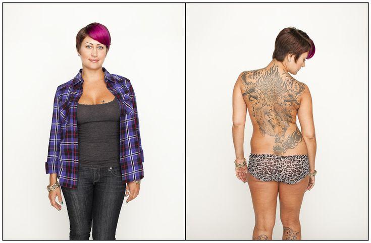 PHOTOS. Des tatouages cachés dévoilés dans une série de clichés artistiques
