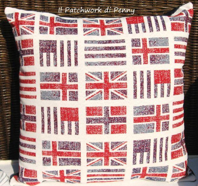 Cuscino Bandiere Regno Unito