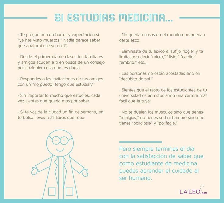 Consecuencias de ser un Estudiante de Medicina ~ CienciasMedicas