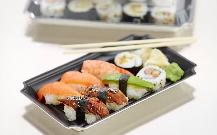 Take-away sushi
