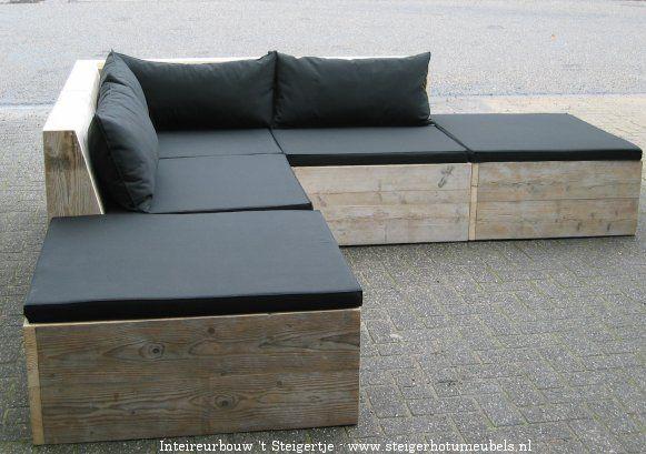 steigerhout loungemeubel - Google zoeken
