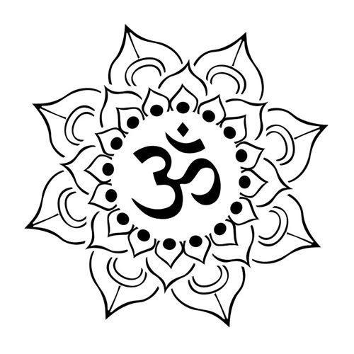 flor de loto budista dibujo - Buscar con Google