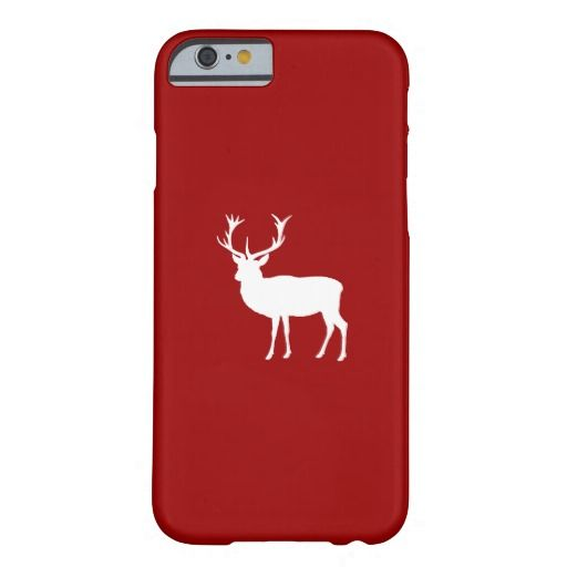 Christmas Deer Barely There iPhone 6 Case