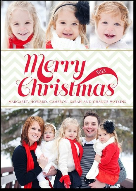 love this customizable holiday card by TinyPrints
