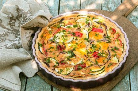 #recette de la quiche de légumes aux épices !