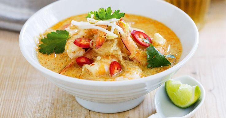 This simple version of a traditional laksa will warm you up this winter.