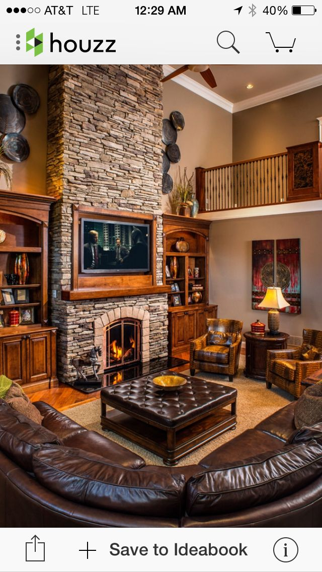 Cozy Living Room With Fireplace 133 best incredible fireplace designs images on pinterest