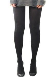 Nina Garcia's 100 Items - black opaque tights