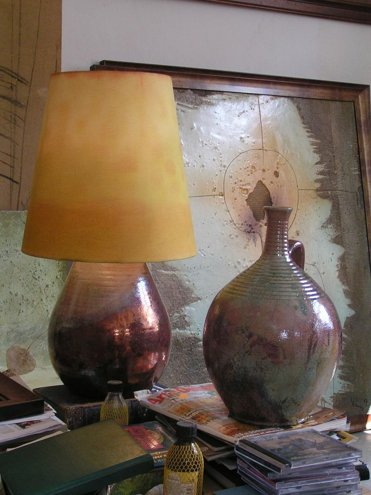 raku lamp