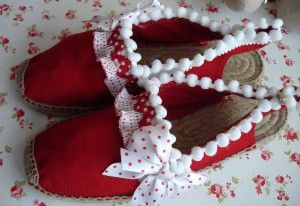 Zapatillas Vanessa Lunares