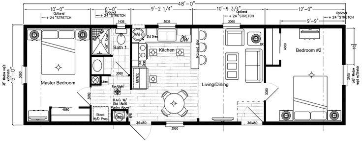 High Seas Mobile Home Floor Plan Factory Expo Home