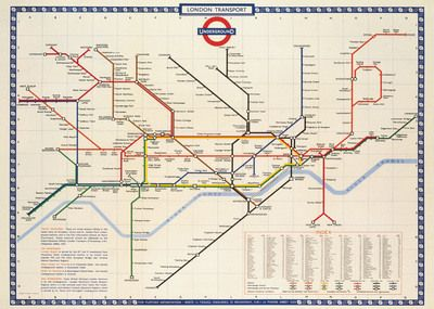 london underground gift wrap