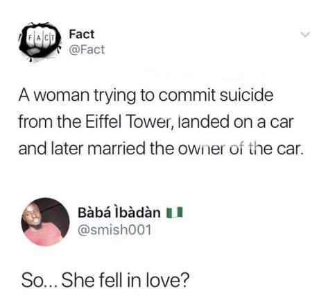 She landed on love