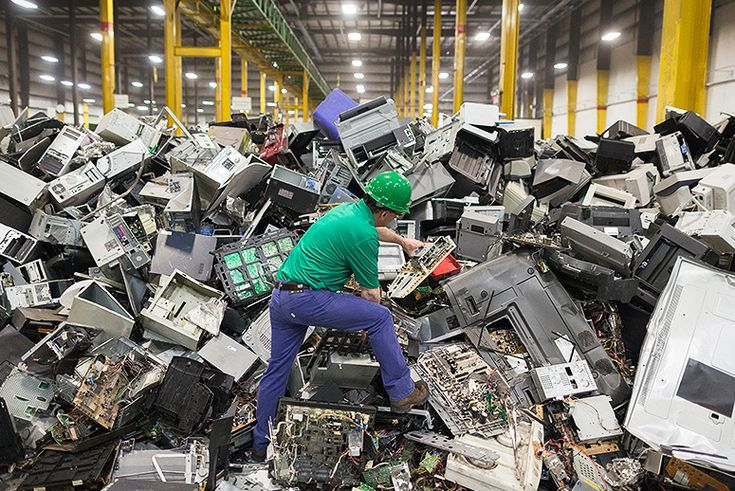 Where do your electronic recyclables really end up?