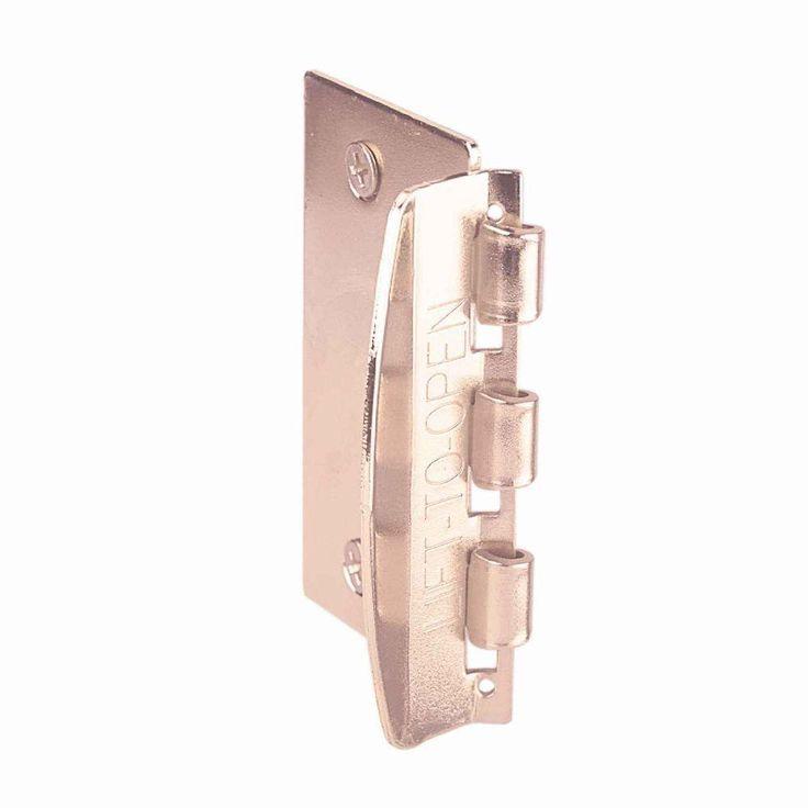 Brass-Plated Steel Flip Action Privacy Door Lock