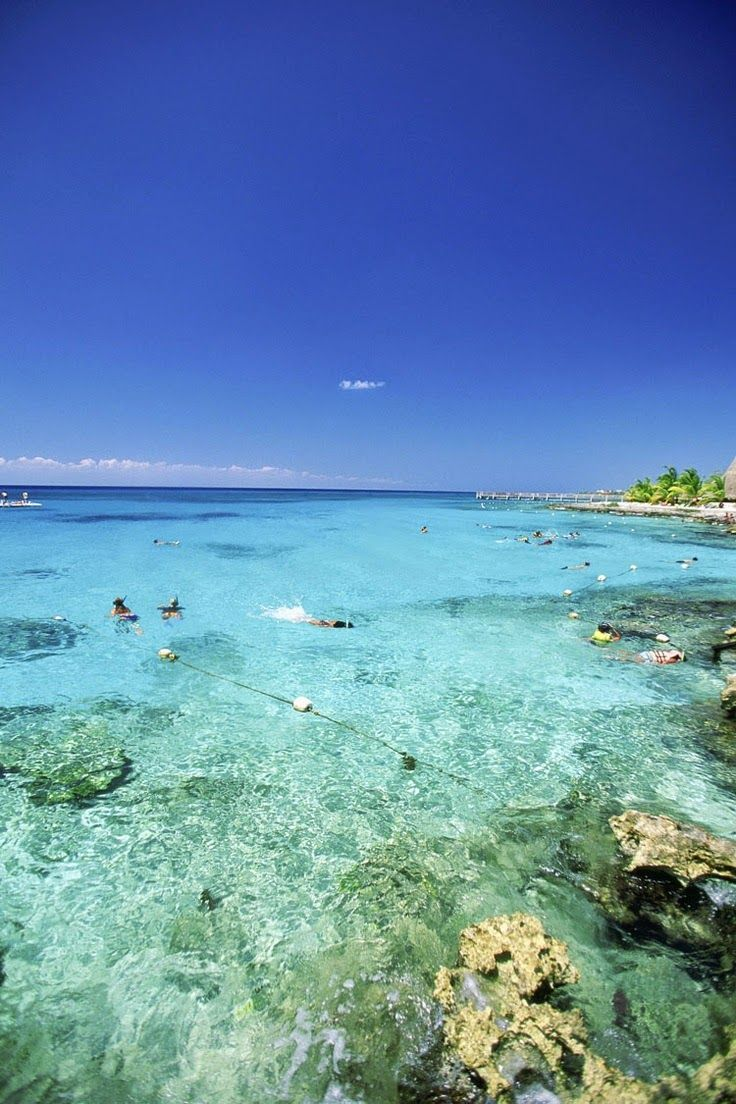 Cozumel, Mexico yes again because I love it here!