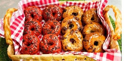 Try this Beetroot Bagels & Rum and Raisin Bagels recipe by Chef Antonio.This recipe is from the show The Great Australian Bake Off.