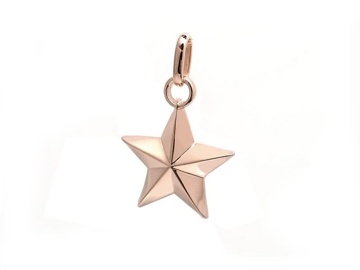AMBRACE K18 pink gold elegant star pendant ピンクゴールド ペンダント チャーム ネックレス エレガント スター