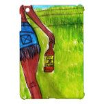 Woman with Bottle of Whiskey Cover For The iPad Mini #Texas