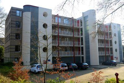 Gelegen in een van de meest geliefde buurten van Nijmegen, in de groene bosrijke omgeving van het Jonkerbos en het Goffertpark, naast het CWZ ziekenhuis en op fietsafstand van het UMC St. Radboud is dit appartementencomplex gelegen.    Het appartement is middels een lift bereikbaar, op eigen terrein zijn voldoende gemeenschappelijke parkeerplaatsen aanwezig.    Indeling:    Begane grond:  Gemeenschappelijk entree, liftinstallatie, trappenhuis, toegang naar de bergingen.    3e ...