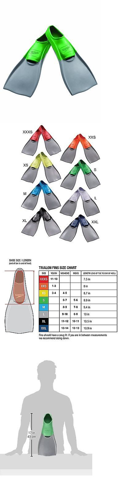 Other Swimming 36269: Speedo Rubber Swim Fins Green Small -> BUY IT NOW ONLY: $31.78 on eBay!