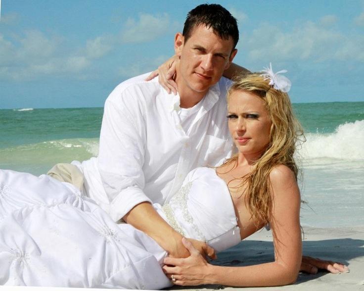 Trash the dress. beach wedding photos  Photo by Darlayne Coughlin