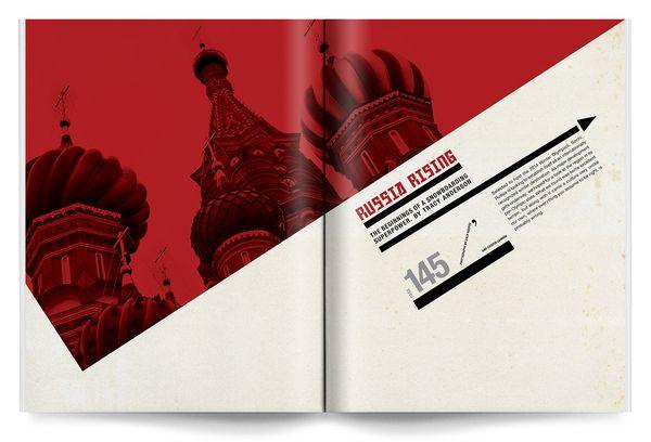 Editorial Design by Dustin Koop, via Behance