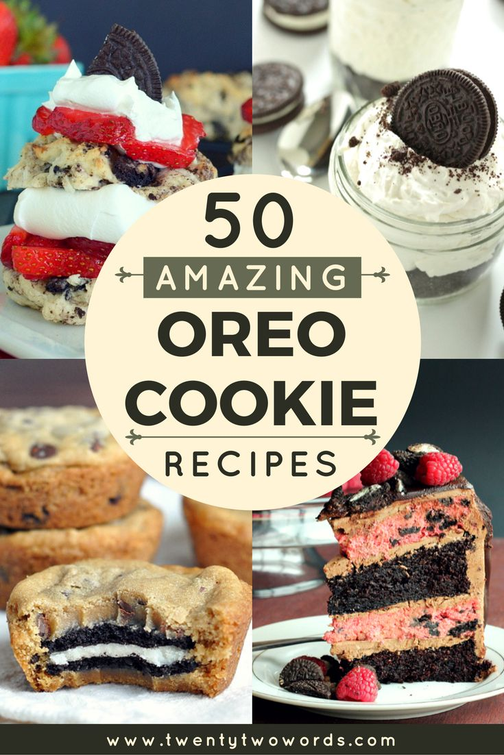 Why just dunk Oreos in milk when you can transform them into Oreo Nutella Frappuccinos or Peanut Butter Oreo Banana Bread? Combine them with yummy ingredients like pumpkin spice in the fall or fresh strawberries in the summer. Make breakfast better with O