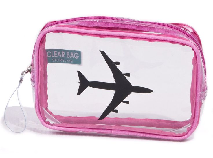 Amazon Com Small Travel Compliant Cosmetic Bag Airplane