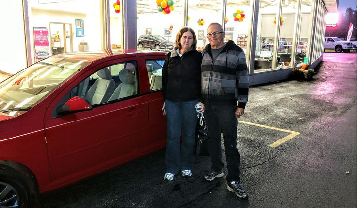 Awesome! Congratulations to Edmund and Janice on your new 2010 CHEVROLET COBALT!  Thank you again, Kunes Country CJDR of Oregon and MICHAEL CARTER.