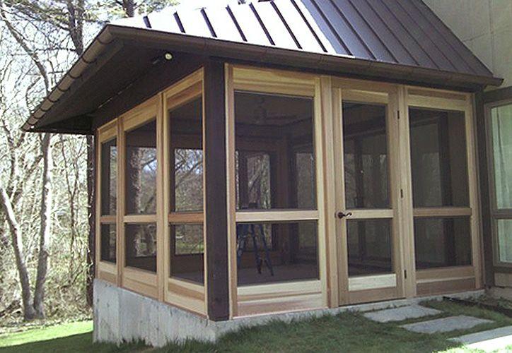 master bedroom sleeping porch