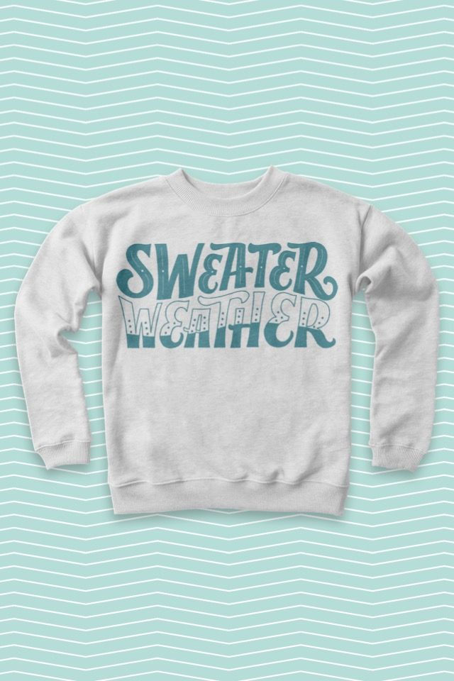 Sweater Weather.  #madewithover