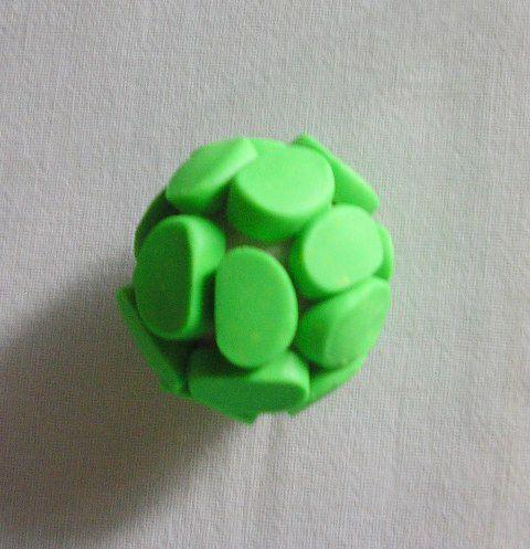 4Dekor вдохновение: Как сделать полые бусины из полимерной глины - мастер-класс…