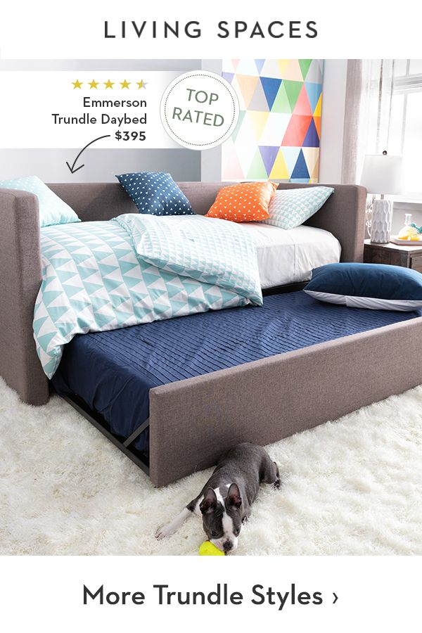 Space Saving Teens Bedroom Furniture: Trundle Beds For Kids. Space Saving Trundles Add