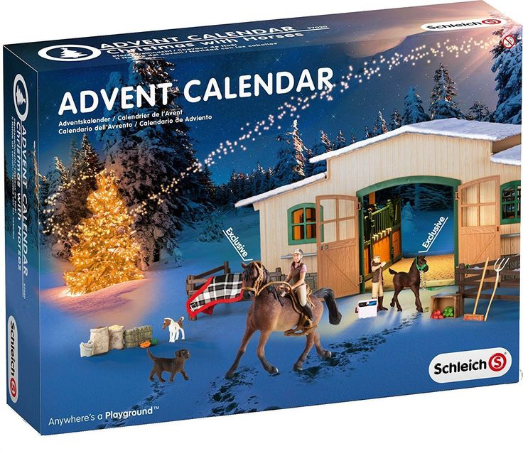 Schleich Horse Stable Christmas Advent Calendar Set Home Décor