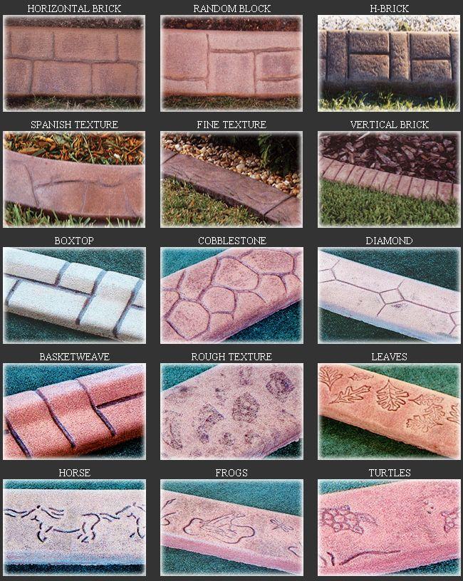 Best CurbingEdging Images On Pinterest Lawn Care Landscape - Design continuous free form concrete landscape edging by kwik kerb
