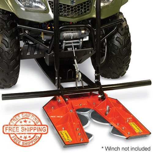 DR TreeChopper™  Cuts Hundreds of Trees Per Hour! Halt the spread of invasive tree species! Introducing an ATV attachment that lets you quickly and easily reclaim range land, create shooting lanes, clear fence lines, and make fire breaks.