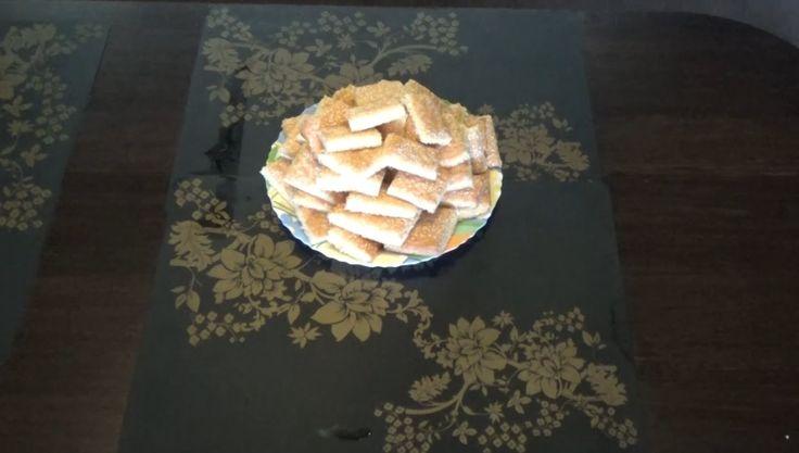 """Как приготовить """"Печенье с кунжутом"""" - Или печенье """"гости на пороге"""""""