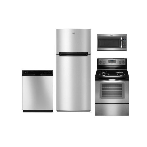 Kitchenaid 4 Piece Kitchen Appliance Package With Electric: Best 25+ Stainless Steel Refrigerator Ideas On Pinterest